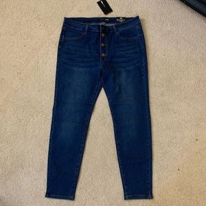 Los Angeles Bound Ankle Jeans Size 1X